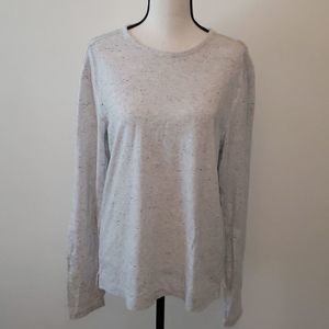 Vince speckled long sleeved tee sz. M
